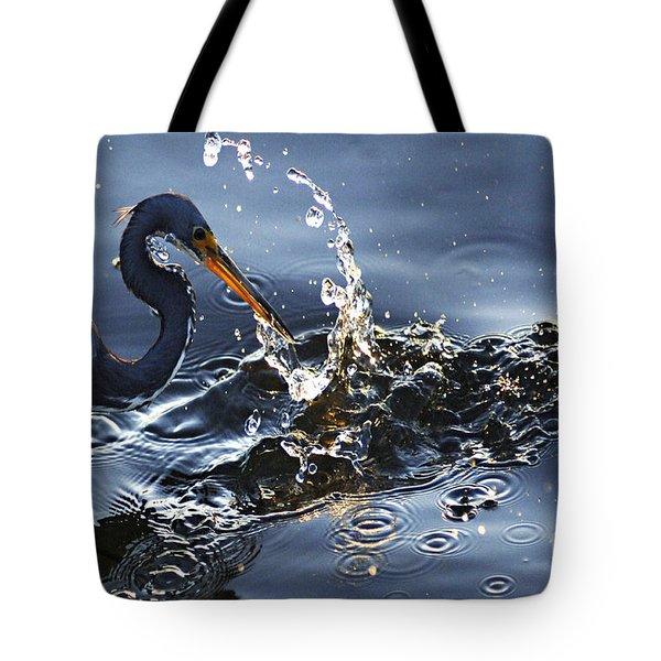 Splash Tote Bag by Bob Christopher