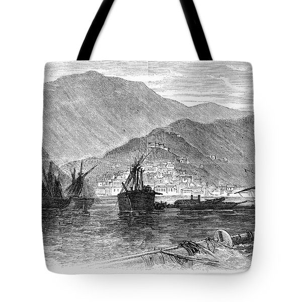 St. Thomas: Hurricane, 1867 Tote Bag by Granger