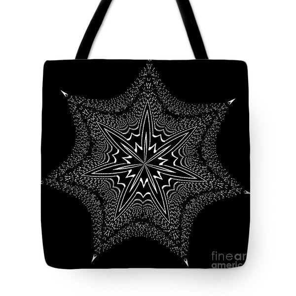 Star Fish Kaleidoscope Tote Bag