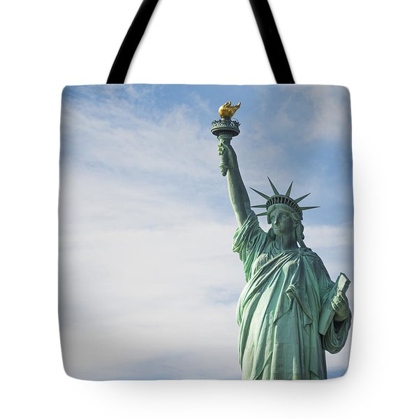 Tote Bag featuring the photograph Statue Of Liberty by Theodore Jones