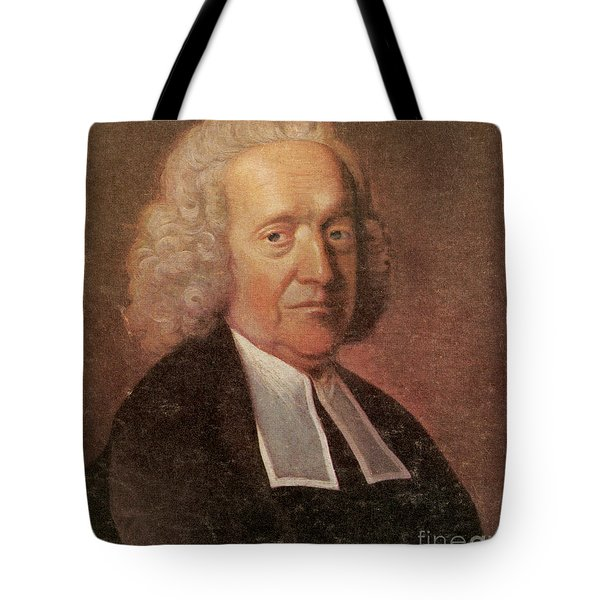 Stephen Hales, English Botanist Tote Bag by Science Source