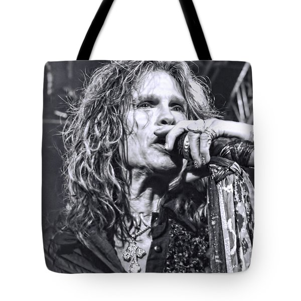 Tote Bag featuring the photograph Steven Sings by Traci Cottingham