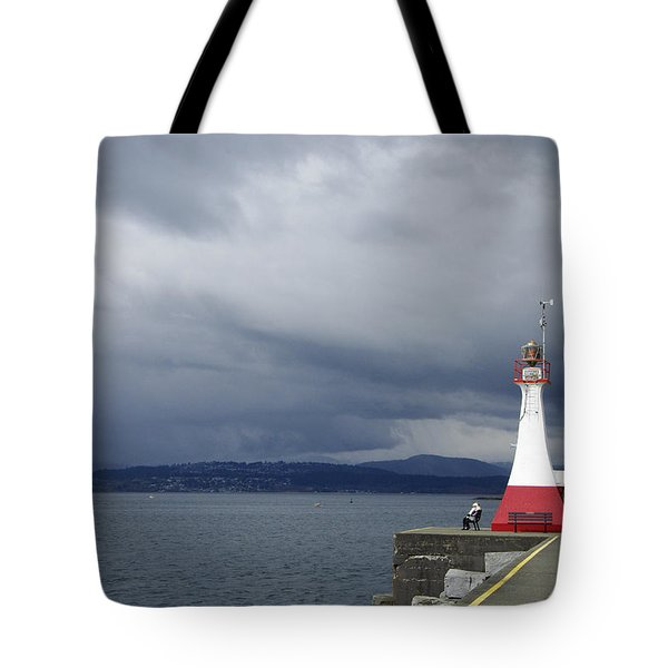 Tote Bag featuring the photograph Stormwatch by Marilyn Wilson