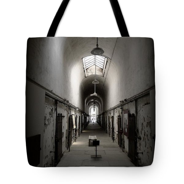 Tote Bag featuring the photograph Sweet Home Penitentiary by Richard Reeve