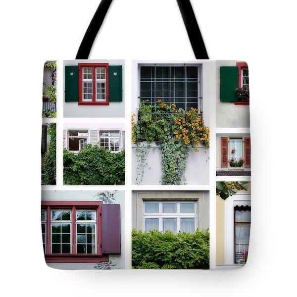 Swiss Windows Tote Bag
