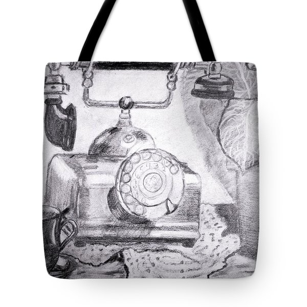 Tea Time Tote Bag by Vickie G Buccini
