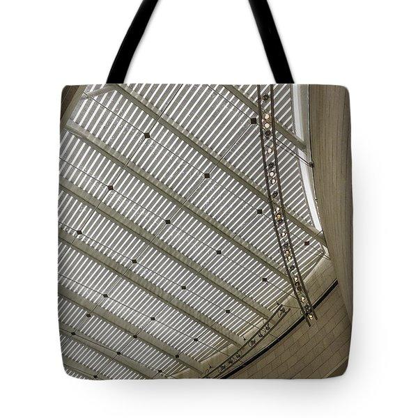 Telfair Sun Screen And Skylight Detail Tote Bag by Lynn Palmer