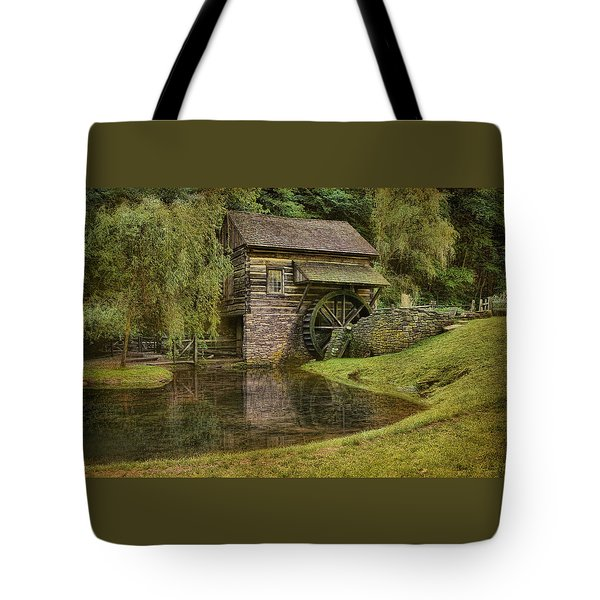 The Bromley Mill At Cuttalossa Farm Tote Bag