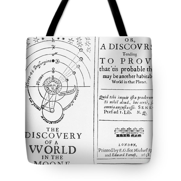 The Discovery Of A World In The Moone Tote Bag by Science Source