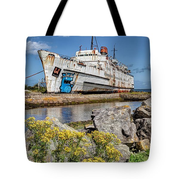 The Duke Tote Bag by Adrian Evans