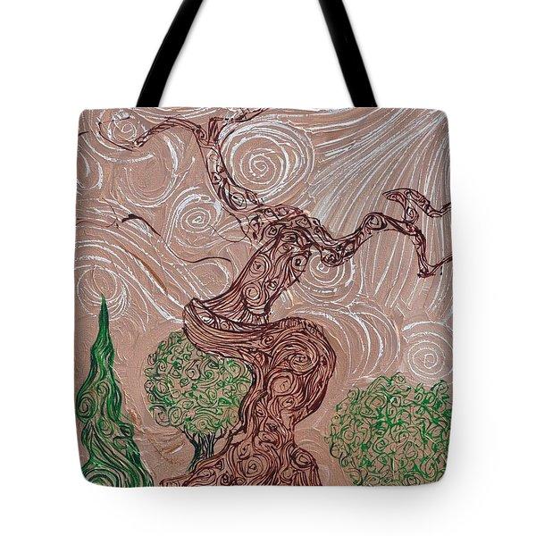 The Earthen Tree Tote Bag