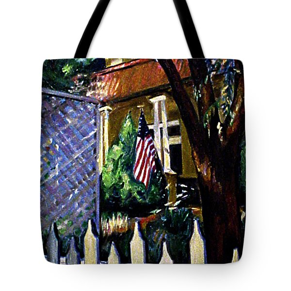 The Grant House Tote Bag by Karen Francis