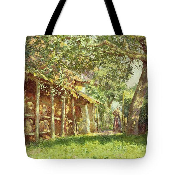The Gypsy Camp Tote Bag