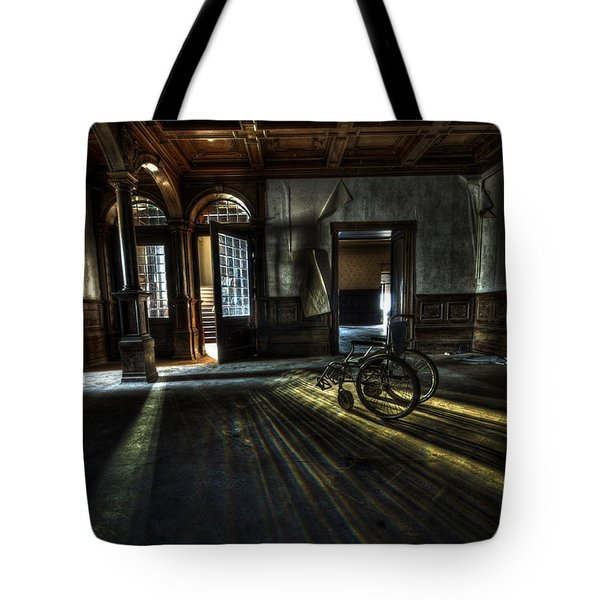 The Home Tote Bag by Nathan Wright