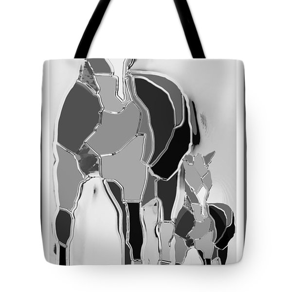 The Luck Horse And Foal Tote Bag