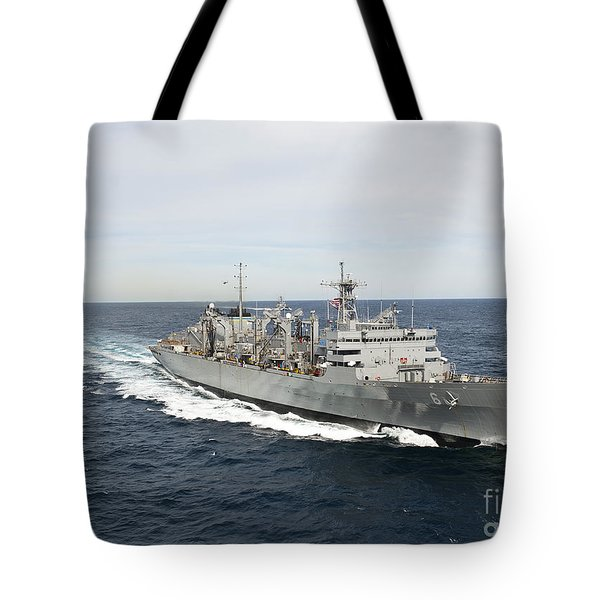 The Military Sealift Command Fast Tote Bag by Stocktrek Images