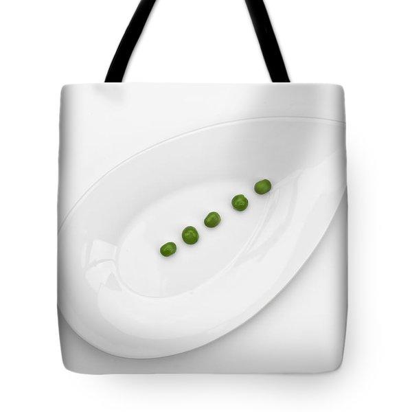 The Pea Tote Bag by Joana Kruse