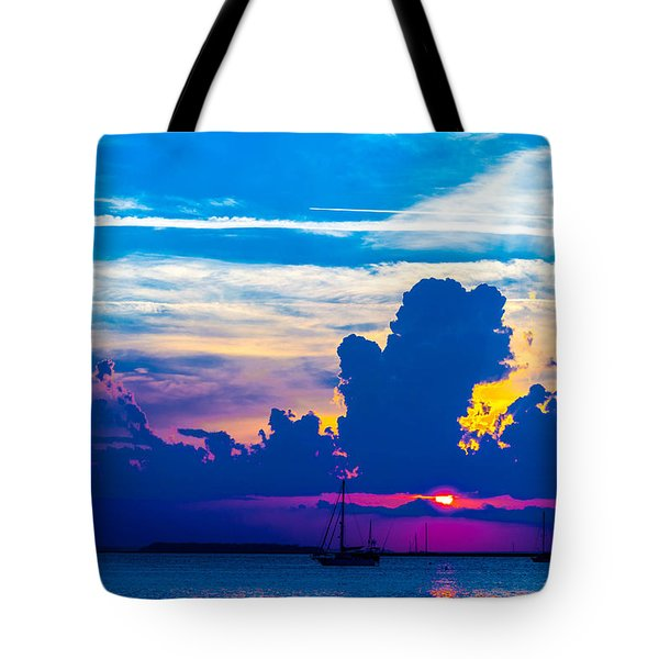 The Purple Sunset Tote Bag