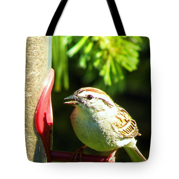 The Sparrow Tote Bag