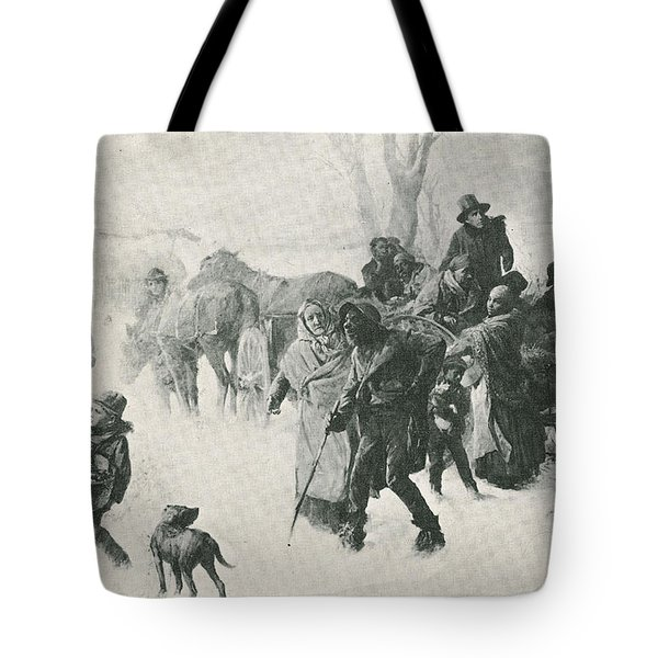 The Underground Railroad Tote Bag by Photo Researchers