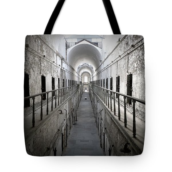 Tote Bag featuring the photograph The Walk by Richard Reeve