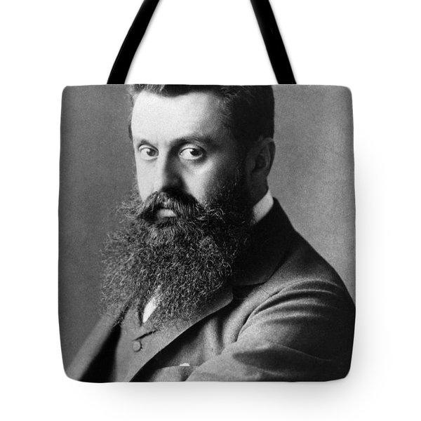 Theodor Herzl (1860-1904) Tote Bag by Granger