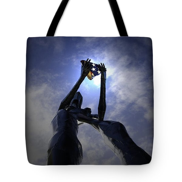 Tote Bag featuring the photograph Those Left Behind  by Betty Depee