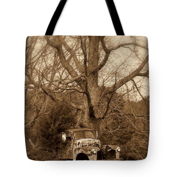 Times Past Tote Bag by Marty Koch
