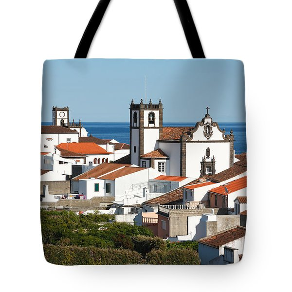 Town By The Sea Tote Bag by Gaspar Avila