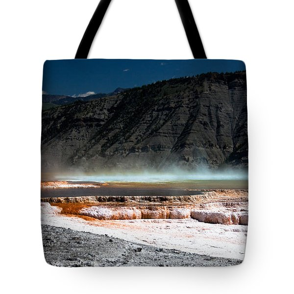 Travertine Terraces Tote Bag by Ralf Kaiser
