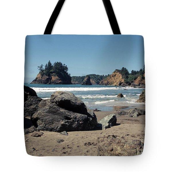 Trinidad Beach Tote Bag by Sharon Elliott