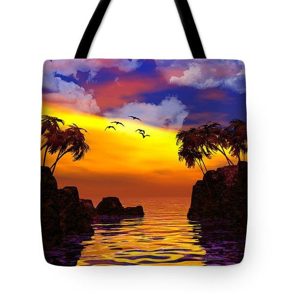 Trinidad Tote Bag by Robert Orinski