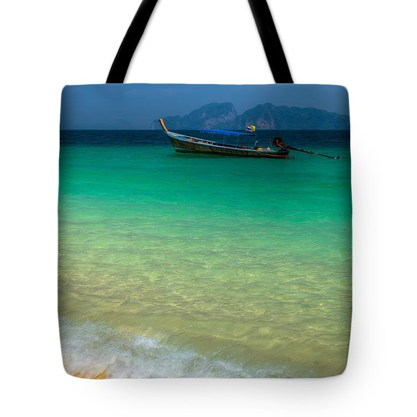 Tropical Paradise Tote Bag by Adrian Evans