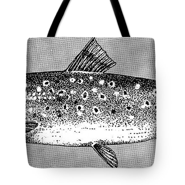 Trout Tote Bag by Granger