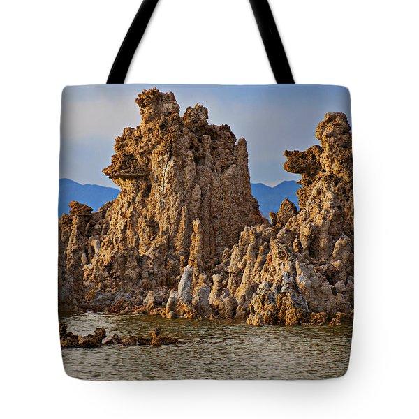 Tufa Mono Lake California Tote Bag by Garry Gay