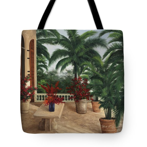 Tuscan Patio Tote Bag