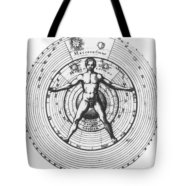 Utrisque Cosmi, Title Page, 1617 Tote Bag by Science Source