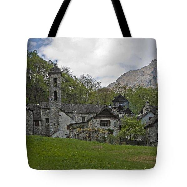 Valle Bavona - Ticino Tote Bag by Joana Kruse