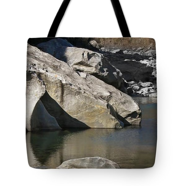 Valle Maggia Tote Bag by Joana Kruse