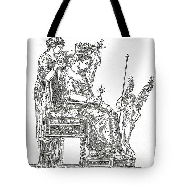 Venus, Roman Goddess Of Love Tote Bag by Photo Researchers