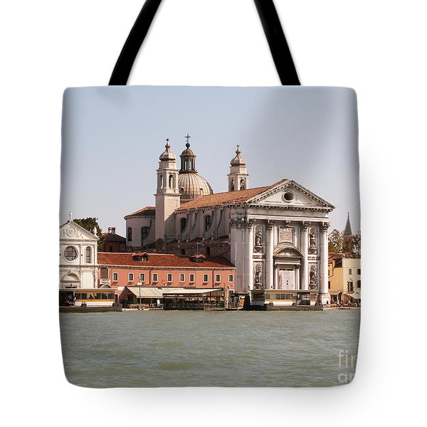 View On Venice Tote Bag by Evgeny Pisarev
