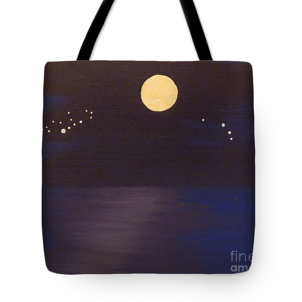 Virgo And Aries Tote Bag by Alys Caviness-Gober