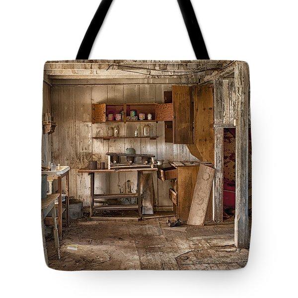 Vulture Mine Tote Bag by Sandra Bronstein