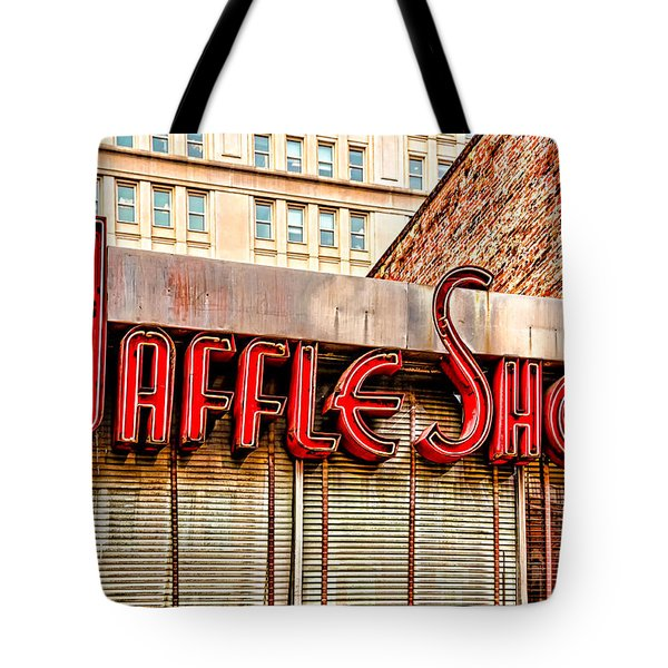 Waffle Shop Tote Bag by Christopher Holmes