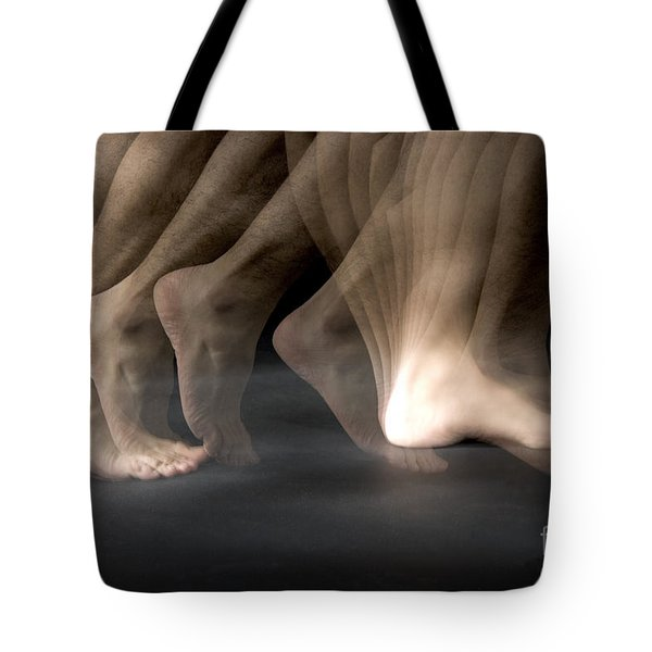 Walking Tote Bag by Ted Kinsman