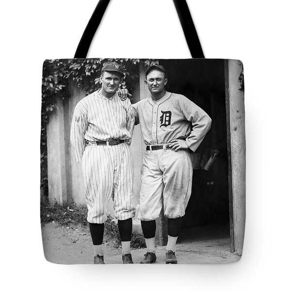 Walter Johnson (1887-1946) Tote Bag by Granger