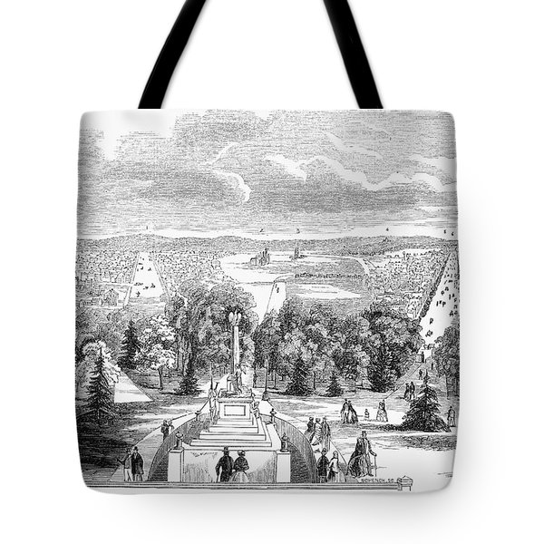 Washington, D.c., 1853 Tote Bag by Granger