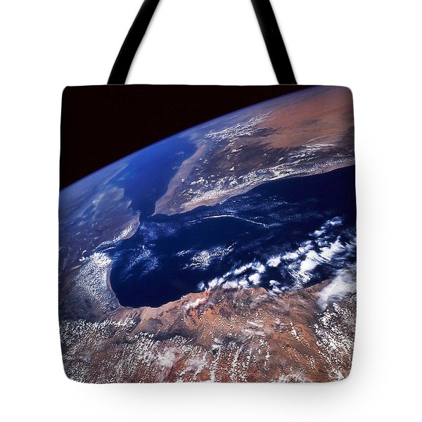 Water And Land Tote Bag by Stocktrek Images