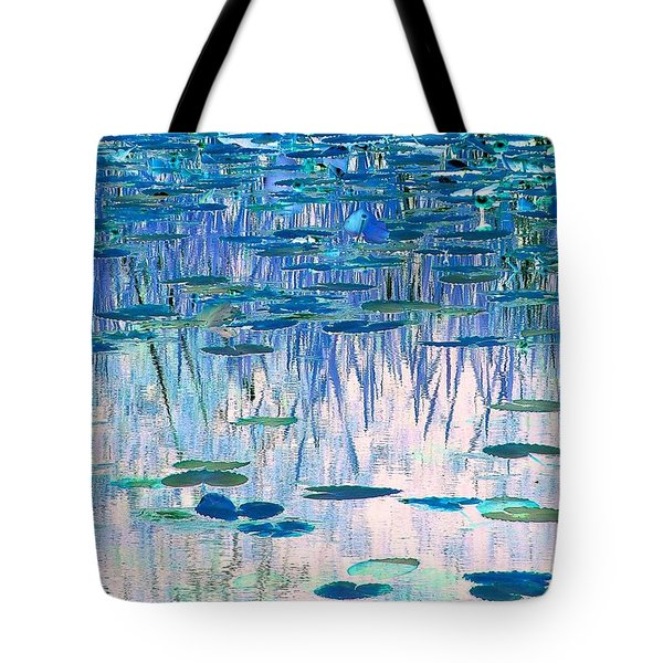 Tote Bag featuring the photograph Water Lilies by Chris Anderson