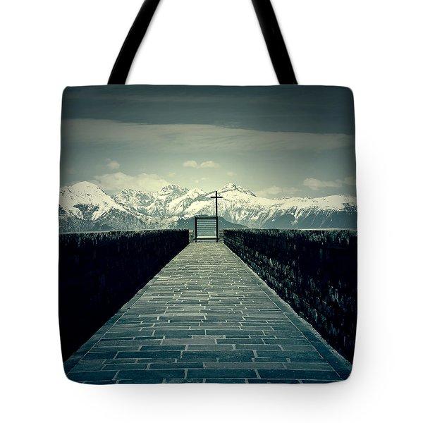Way To Heaven Tote Bag by Joana Kruse